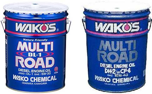 WAKO'S(ワコーズ) MR-DL1 マルチロードDL-1 20Lペール缶 5W-30 100%化学合成油 エンジンオイル ※画像左 【4輪エンジンオイル】