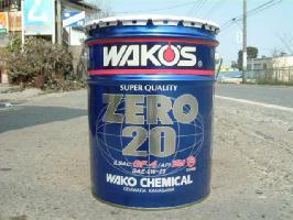 WAKO'S(ワコーズ) 高性能省燃費エンジンオイル ZERO20(ゼロ20)  0W-20 20L 【4輪エンジンオイル】