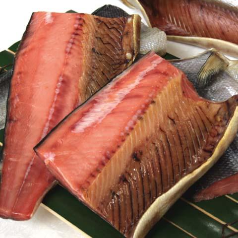 塩引き鮭一尾【四つ切りにして】生時4.2kg