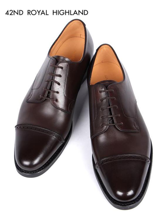 【国内正規品】42ND ROYAL HIGHLAND CH4302-11 フォーティーセカンドロイヤルハイランド ストレートチップ 5H 本革 レザーシューズ 革靴 紳士靴 ビジネスシューズ ドレスシューズ 内羽