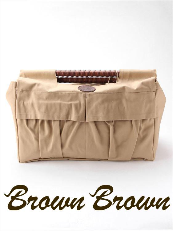 【10%OFFセール】【国内正規品】BrownBrown ブラウンブラウン トートバッグ キャンバス地 幌布 BBL-732 ベージュ ストレートウッドハンドル レザー