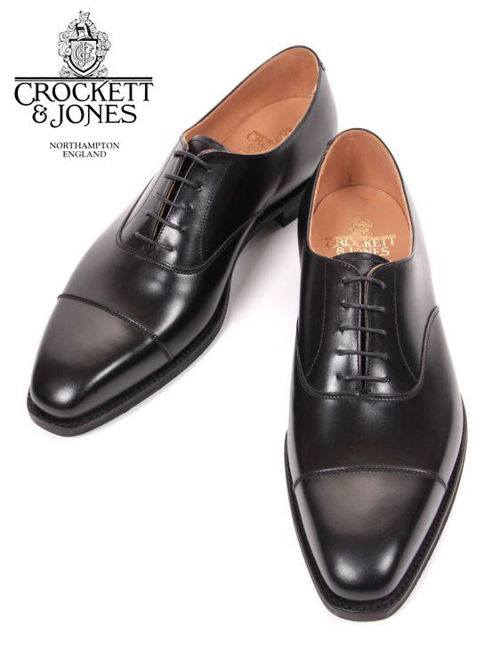 【国内正規品】 Crockett&Jones HALLAM クロケット&ジョーンズ ストレートチップ レザーシューズ ブラック 革靴 紳士靴 ビジネスシューズ 内羽 ハラム
