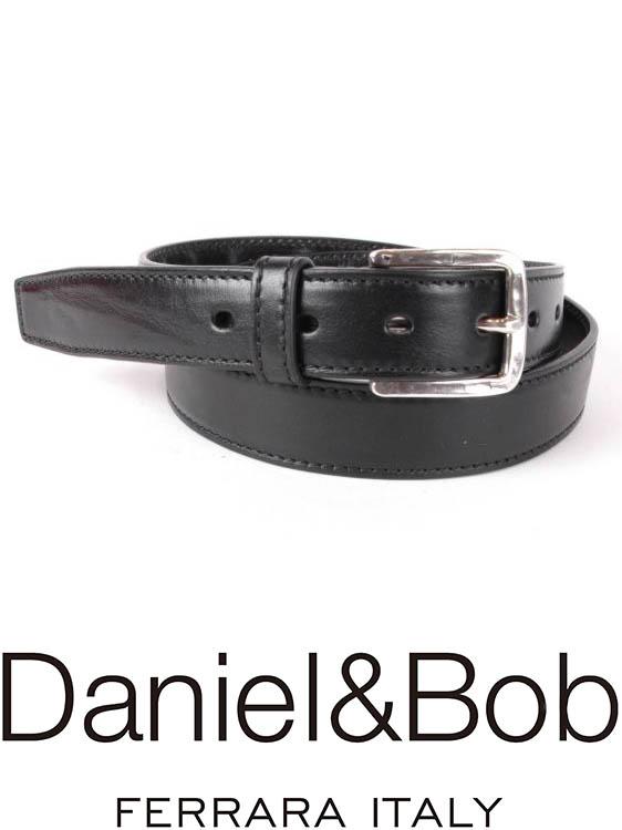 【国内正規品】 Daniel&Bob DBB002 99NERO レザーベルト ダニエルアンドボブ ブラック RODI ローディー