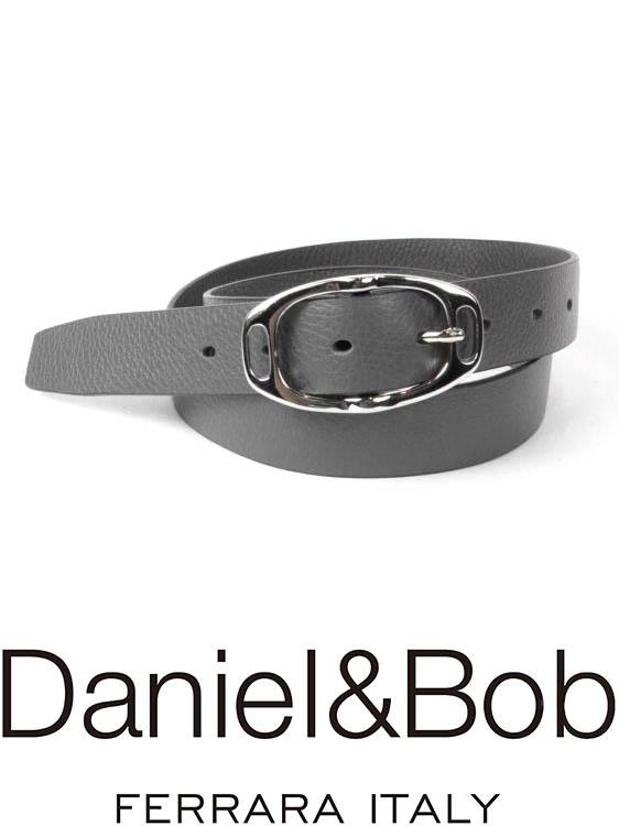 【国内正規品】 Daniel&Bob dbb004-97GRAPHITE レザーベルト ダニエルアンドボブ グラファイトグレー ALCE アルチェ