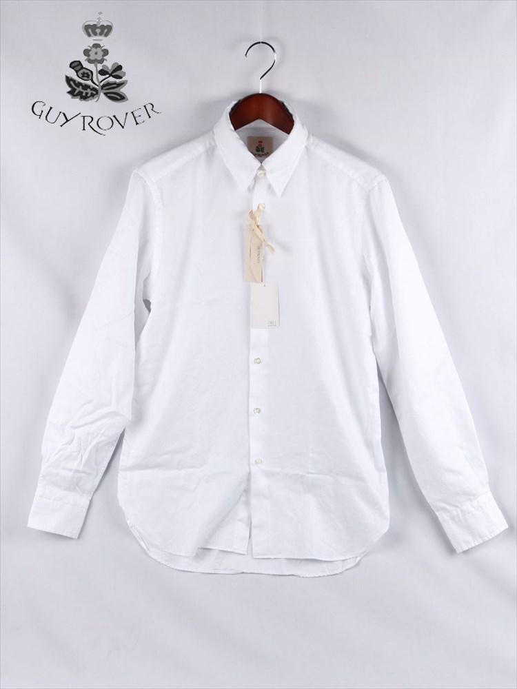 【20%OFFセール】【国内正規品】GUYROVER ギローバー ループタブ ボタンダウンシャツ ホワイト C2800L-572901