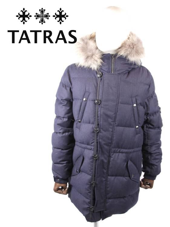 【国内正規品】TATRAS タトラス FONDO ダウンコート ミドル丈 撥水加工 MTA20A4584 BLUE ブルー