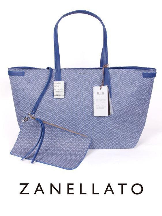 【20%OFFセール】【国内正規品】ZANELLATO ザネラート DUO GRAND TOUR BLANDINE GT トートバッグ ZA191YA3624701 ブルー