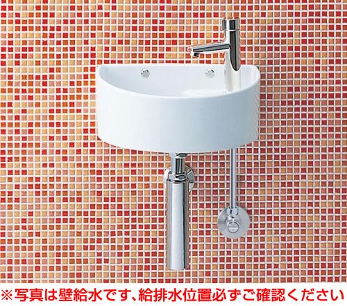 INAX イナックス LIXIL リクシル 【YAWL-33(B)】手洗器(丸形)壁給水・壁排水(ボトルトラップ)アクアセラミック仕様[新品]
