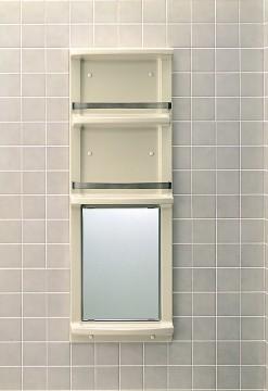 【直送商品】INAX LIXIL・リクシル 浴室収納棚 【YR-412G】[新品]〈メーカー直送(土曜配送可)のみ・代引き不可・NP後払い不可〉