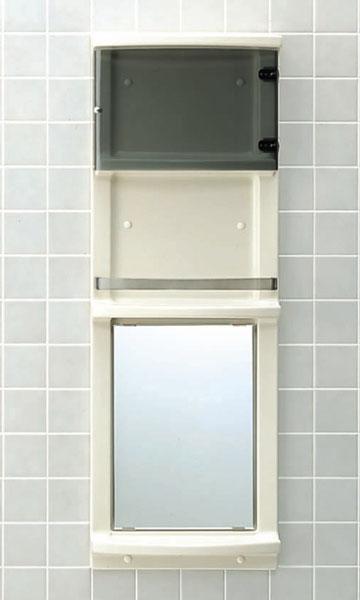 【直送商品】INAX LIXIL・リクシル 浴室収納棚 【YR-412GT】[新品]〈メーカー直送(土曜配送可)のみ・代引き不可・NP後払い不可〉