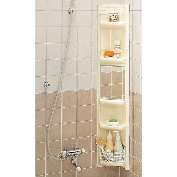【直送商品】INAX LIXIL・リクシル アクセサリー 浴室収納棚 【YR-221G】[新品]〈メーカー直送(土曜配送可)のみ・代引き不可・NP後払い不可〉
