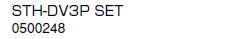 ノーリツ 温水暖房システム 部材 端末器 関連部材 ヘッダー関連 STH-DV3P SET【0500248】[新品]