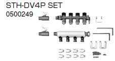 ノーリツ 温水暖房システム 部材 端末器 関連部材 ヘッダー関連 STH-DV4P SET【0500249】[新品]