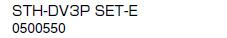 ノーリツ 温水暖房システム 部材 端末器 関連部材 ヘッダー関連 STH-DV3P SET-E【0500550】[新品]