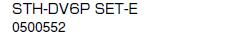 ノーリツ 温水暖房システム 部材 端末器 関連部材 ヘッダー関連 STH-DV6P SET-E【0500552】[新品]