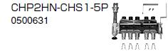 ノーリツ 温水暖房システム 部材 端末器 関連部材 ヘッダー関連 CHP2HN-CHS1-5P【0500631】[新品]