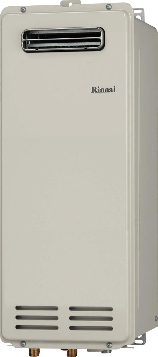 Rinnai[リンナイ] ガス給湯器 RUX-VS2016W(A) ガス給湯専用機 20号 ふろ機能:給湯専用 BL有 接続口径:15A 設置:標準 品名コード:23-0867