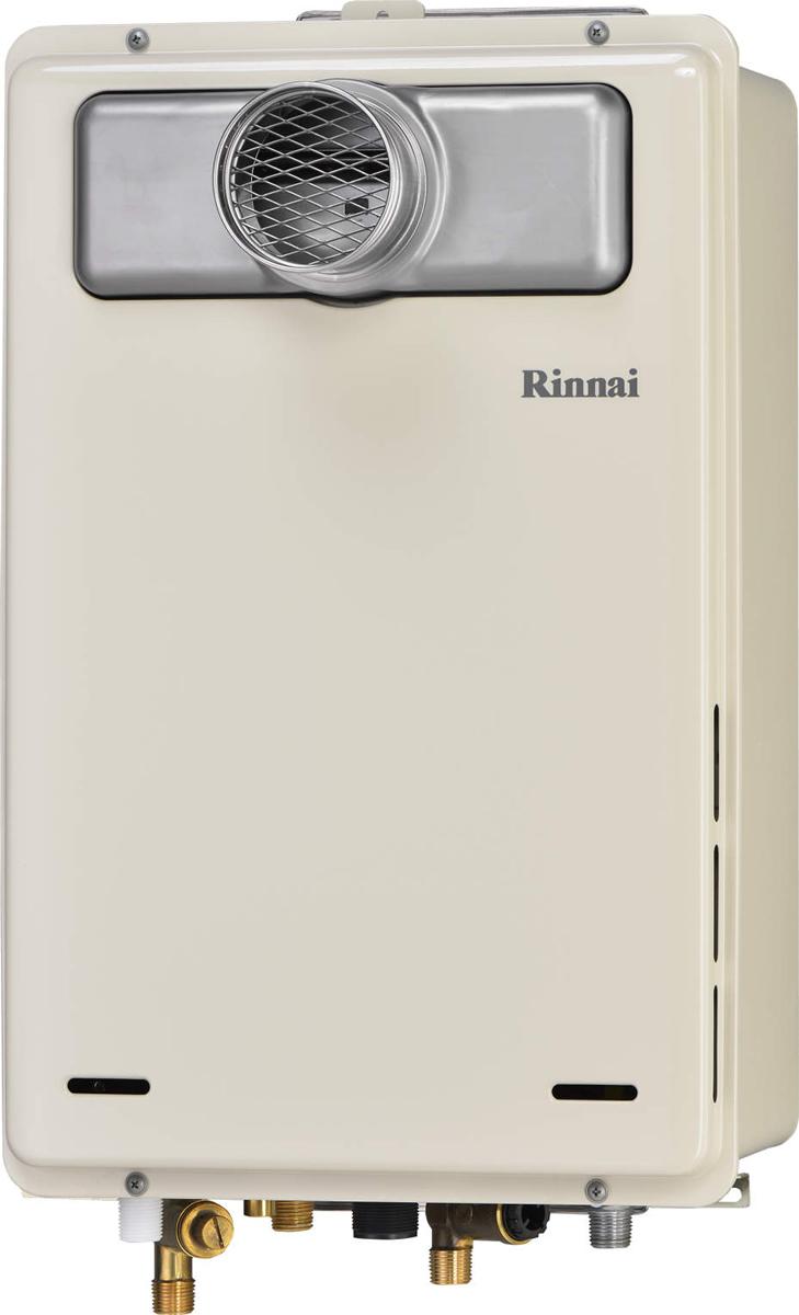 Rinnai[リンナイ] ガス給湯器 RUJ-A1610T 高温水供給式タイプ 16号 ふろ機能:高温水供給式 BL有 接続口径:15A 設置:扉内 品名コード:23-9749