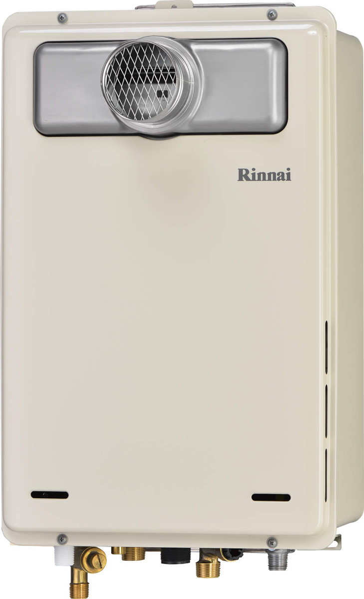 Rinnai[リンナイ] ガス給湯器 RUJ-A1600T-L 高温水供給式タイプ 16号 ふろ機能:高温水供給式 BL有 接続口径:20A 設置:扉内延長 品名コード:23-9804