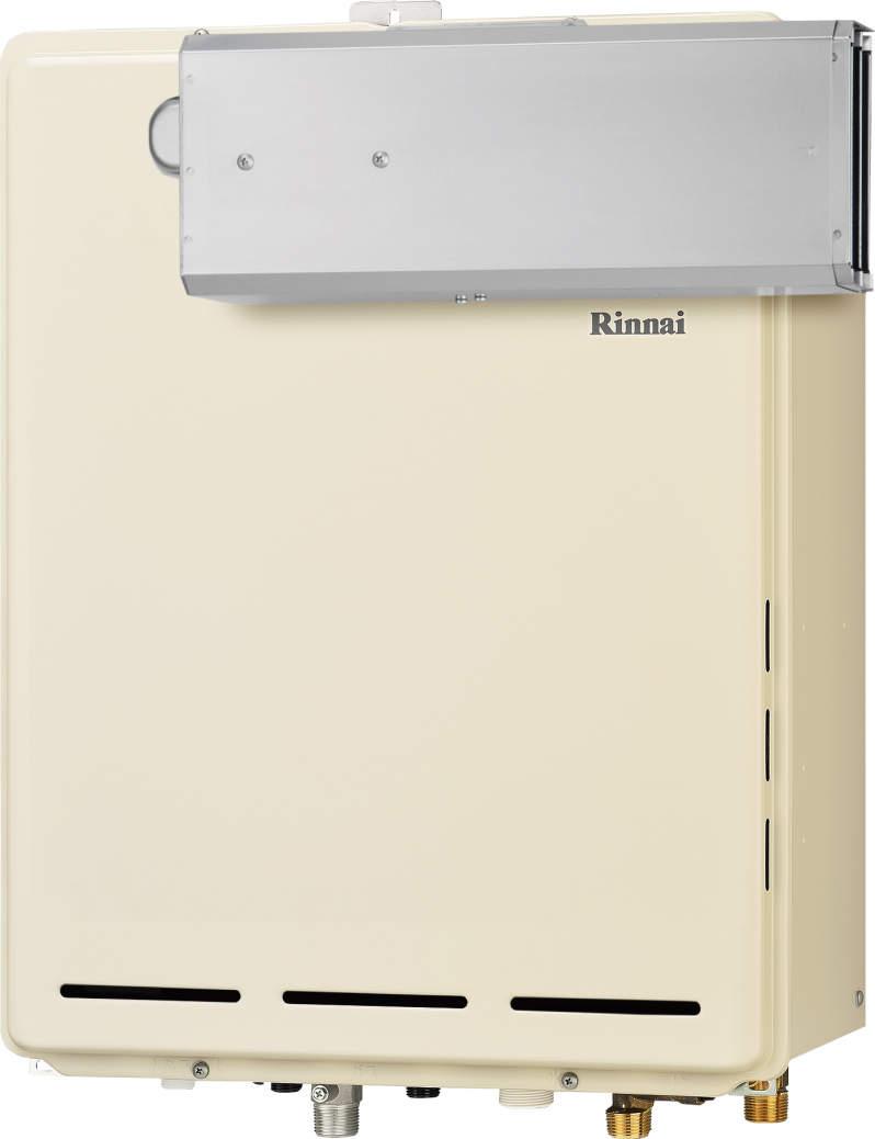 Rinnai[リンナイ] ガス給湯器 【RUF-A2405SAA(B)】 ガスふろ給湯器 設置フリータイプ 24号 ふろ機能:セミオート 接続口径:20A 設置:アルコーブ 品名コード:24-0427