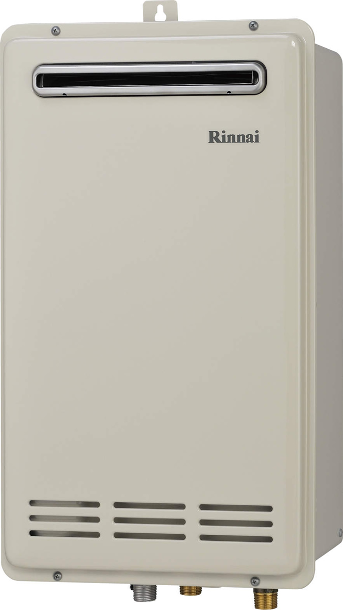 Rinnai[リンナイ] ガス給湯器 RUF-VK2010SABOX(B) ガスふろ給湯器 設置フリータイプ 20号 ふろ機能:セミオート 接続口径:15A 設置:壁組込 品名コード:24-1415