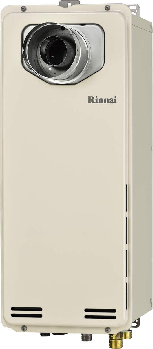 Rinnai[リンナイ] ガス給湯器 【RUF-SA1615AT-L】 ガスふろ給湯器 設置フリータイプ 16号 ふろ機能:フルオート 接続口径:15A 設置:扉内延長 品名コード:24-0044