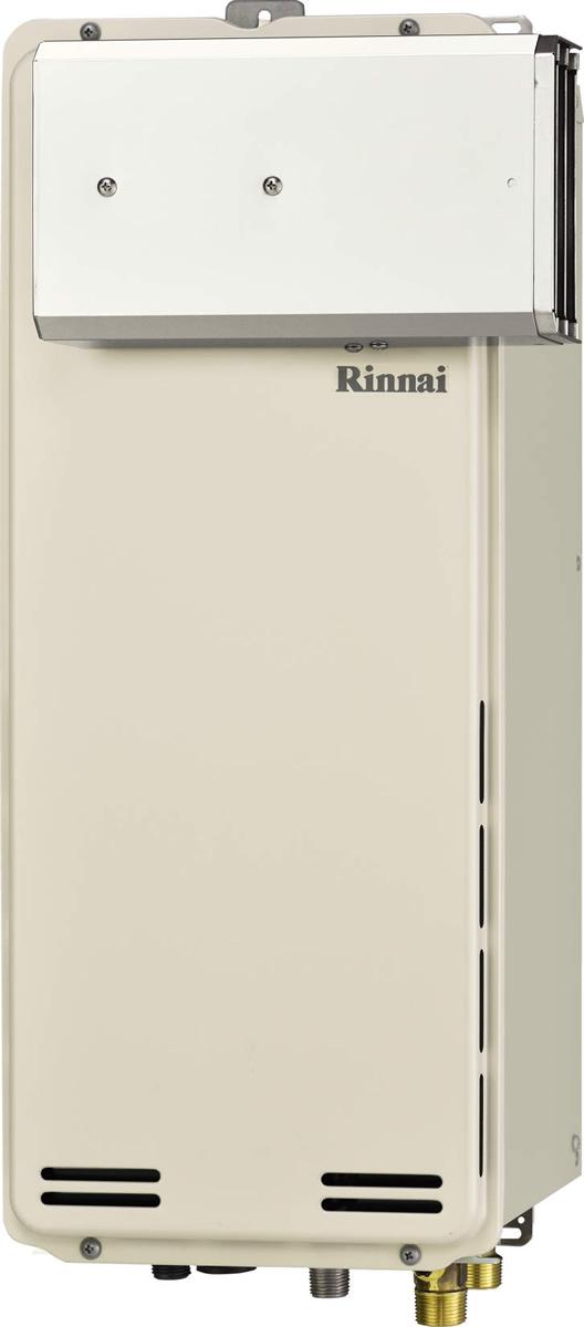 Rinnai[リンナイ] ガス給湯器 【RUF-SA1605AA】 ガスふろ給湯器 設置フリータイプ 16号 ふろ機能:フルオート 接続口径:20A 設置:アルコーブ 品名コード:24-0109