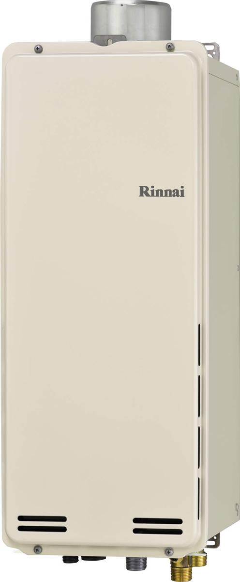 Rinnai[リンナイ] ガス給湯器 【RUF-SA1615AU】 ガスふろ給湯器 設置フリータイプ 16号 ふろ機能:フルオート 接続口径:15A 設置:上方 品名コード:24-0168