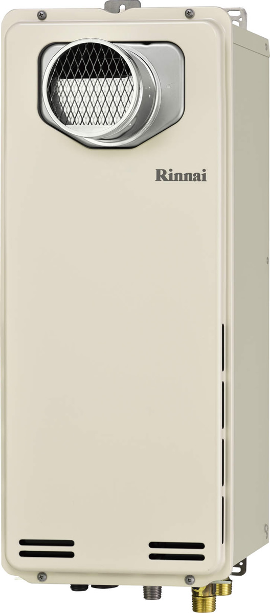 Rinnai[リンナイ] ガス給湯器 【RUF-SA2005AT】 ガスふろ給湯器 設置フリータイプ 20号 ふろ機能:フルオート 接続口径:20A 設置:扉内 品名コード:24-9732