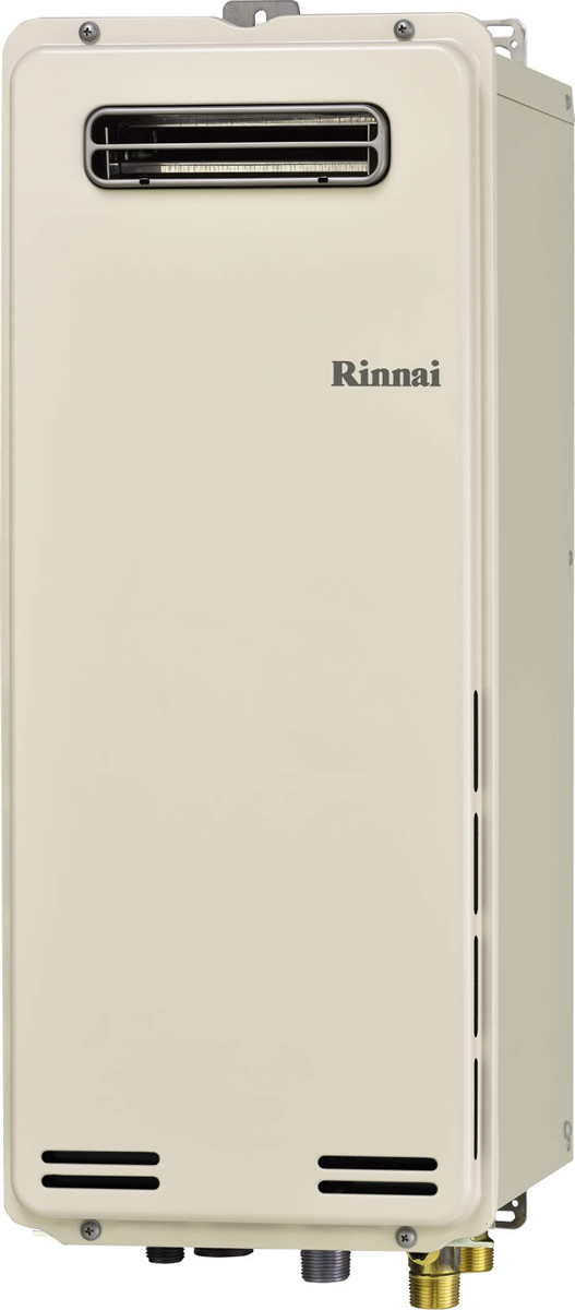 Rinnai[リンナイ] ガス給湯器 【RUF-SA1615AW】 ガスふろ給湯器 設置フリータイプ 16号 ふろ機能:フルオート 接続口径:15A 設置:標準 品名コード:24-9953
