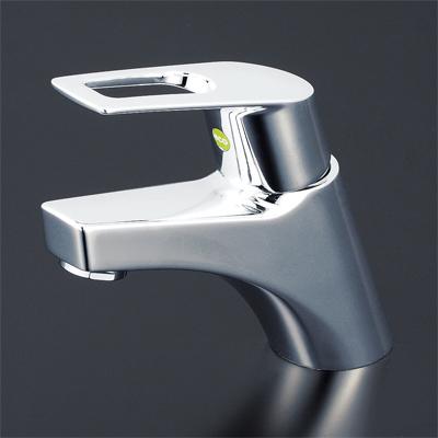 KVK 洗面用シングルレバー式混合栓(eレバー) 【KM7001TEC】[新品]【NP後払いOK】