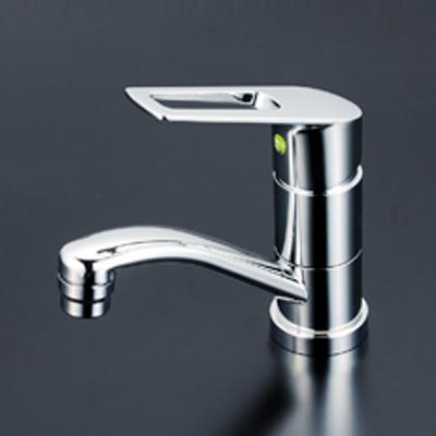 KVK 洗面用シングルレバー式混合栓(eレバー) 【KM7011TEC】[新品]【NP後払いOK】