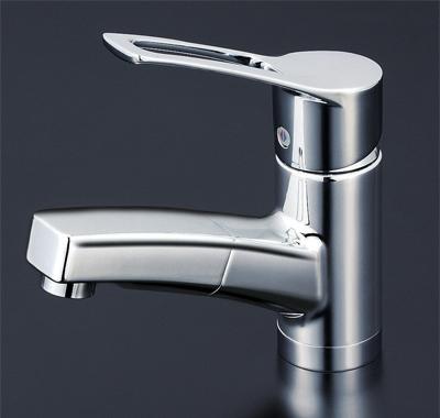 KVK 洗面用シングルレバー式混合栓 【KM8001T】[新品]【NP後払いOK】
