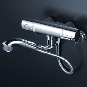 KVK 【FTB100KWSFT】 サーモスタット式混合栓 浴室用水栓 > 壁付サーモスタット [新品]【NP後払いOK】