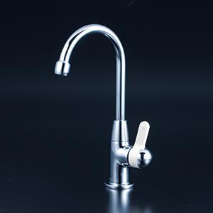 KVK 【K331NC】 パーティーシンク用水栓 キッチン用水栓 > 台付1穴シングルレバー [新品]【NP後払いOK】