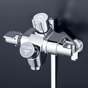 KVK 【KF3040NSV】 自閉式サーモスタットシャワー 浴室用水栓 > 壁付自閉式 [新品]【NP後払いOK】