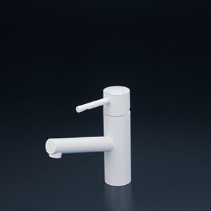 KVK 【KM7041M4】 洗面用シングルレバー混合栓 マットホワイト 洗面用水栓 > 台付シングルレバー [新品]【NP後払いOK】
