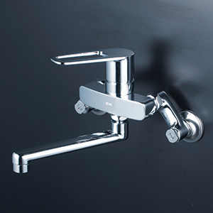 KVK 【MSK110KT】 シングルレバー式混合栓 キッチン用水栓 > 壁付シングルレバー [新品]【NP後払いOK】