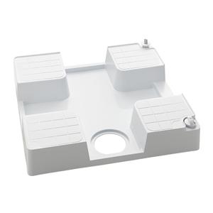 KVK 水栓コンセント内蔵型防水パン(右仕様) 逆止弁無【SC1390N-R】[新品][簡単設置 引っ越し 新生活]