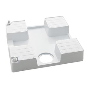 KVK 水栓コンセント内蔵型防水パン(左仕様)【SP1390N-L】[新品][簡単設置 引っ越し 新生活]