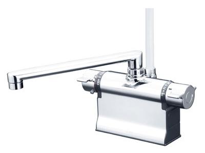 KVK 【KF3011ZTR2】 デッキ形サーモスタット式シャワー 寒冷地[新品]【NP後払いOK】