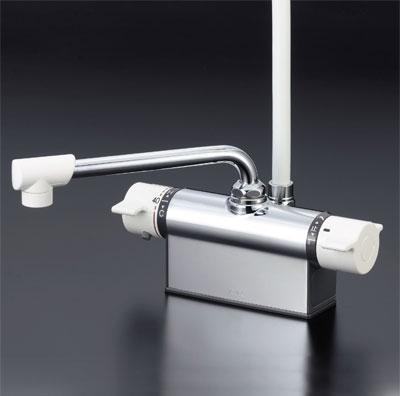 KVK 【KF801】 デッキ形サーモスタット式シャワー[新品]【NP後払いOK】