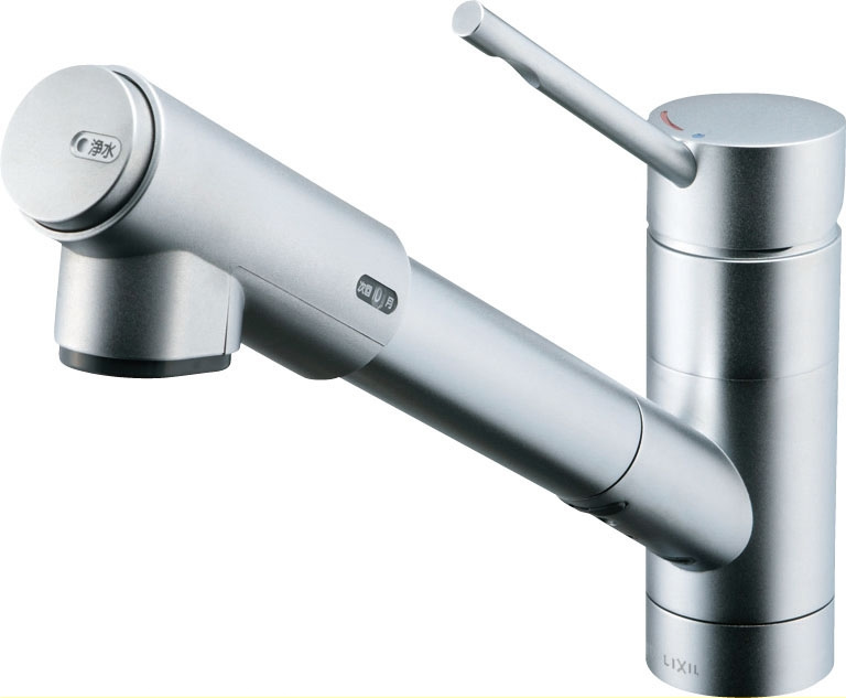 INAX・LIXIL キッチン用水栓金具 【JF-1456SYXN/SE(JW)】 オールインワン浄水栓 eモダンタイプ(エコハンドル) [寒冷地対応] 【JF1456SYXNSEJW】 [新品]