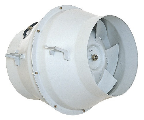 三菱 換気扇 有圧換気扇 産業用換気送風機【JF-350T3】斜流ダクトファン 標準形[新品]