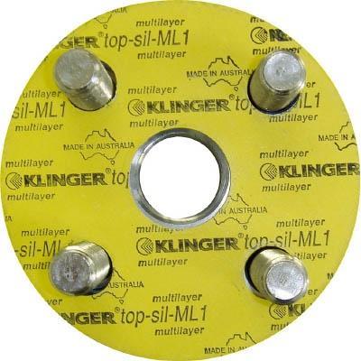 クリンガー社 クリンガー フランジパッキン(5枚入り) ML1-10K-100A ML1-10K-100A 【型式:ML1-10K-100A(1セット:5枚入) 00162072】[新品]