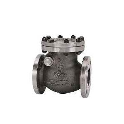 東洋バルヴ 鋳鋼スイングチェッキバルブ <150-SNSF 1> 【型式:150-SNSF-150 01303147】[新品]