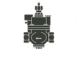 FMバルブ製作所 S-3型(ストレート)・鉛レス銅合金ねじ込み型 【型式:FM-S-3-40 01000124】[新品]