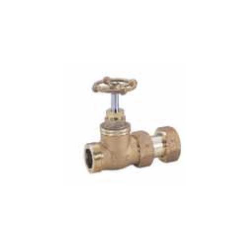 キッツ(KITZ) 青銅製甲形(こま式)伸縮止水栓玉型ハンドル <WSK-GEW> 【型式:KITZ-WSK-GEW-40 00760725】[新品]