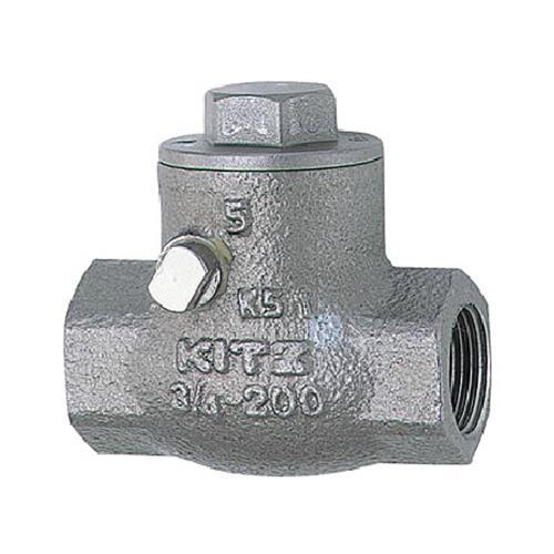 キッツ(KITZ) スイングチャッキ(SCS14A) <UOM 10K> 【型式:KITZ-UOM-15 01107341】[新品]