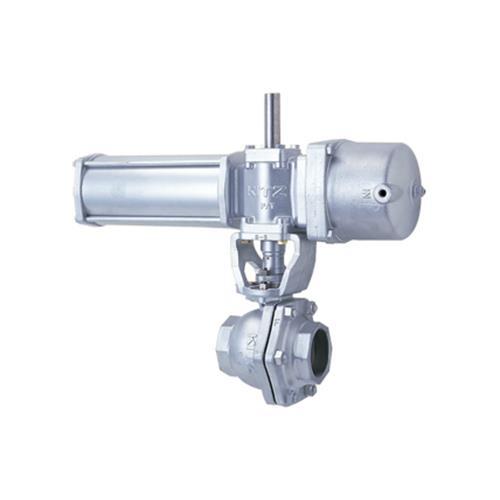 キッツ(KITZ) 自動操作 鋳鉄製ボールバルブ <KITZ-BS-10> 【型式:KITZ-BS-10FCT-10 01409150】[新品]